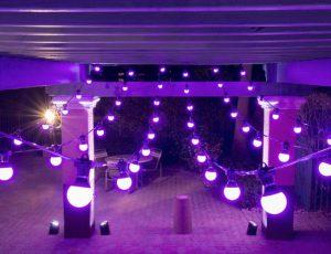 Festoon lighting : interior  and exterior