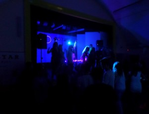 DJ Booth and Stage at 16th Birthday party at Coulsdon 2014