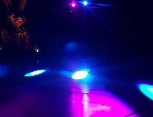 Blue and Purple lighting