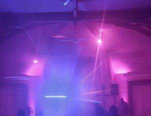 Dance floor and Pro lighting