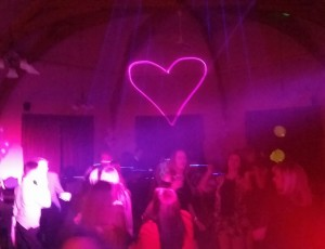 Birthday Party – Red Love Lighting