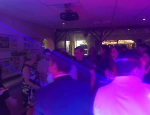 Lazer world beams – Engagement party 22nd March